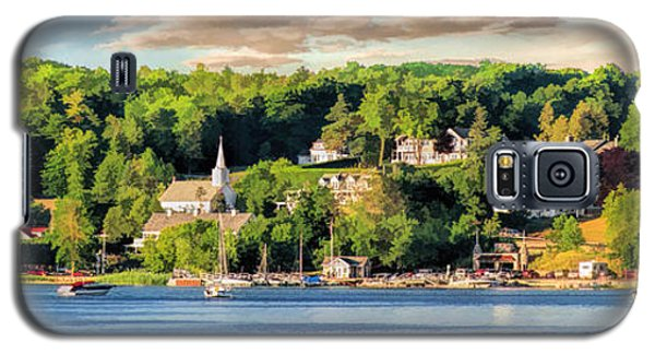 Door County Ephraim Harbor Sunset  Panorama Galaxy S5 Case