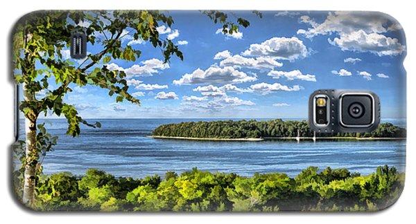 Door County Horseshoe Island Galaxy S5 Case