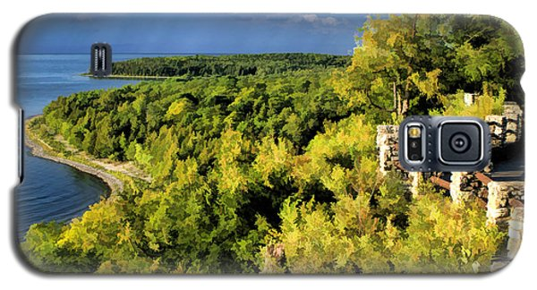 Door County Peninsula State Park Svens Bluff Overlook Galaxy S5 Case