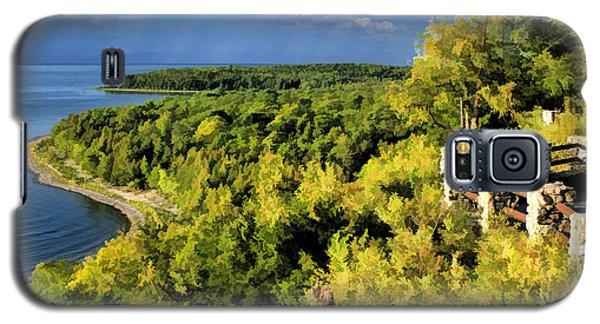 Door County Peninsula State Park Svens Bluff Overlook Galaxy S5 Case