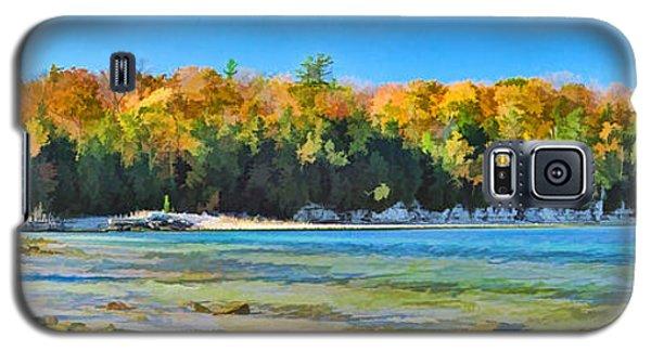 Door County Wisconsin Bay Panorama Galaxy S5 Case