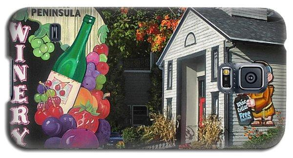 Door Peninsula Winery Galaxy S5 Case by Doug Kreuger