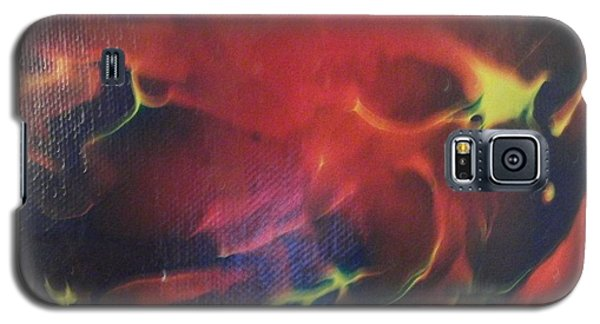 Galaxy S5 Case featuring the painting Doorbell by Thomasina Durkay