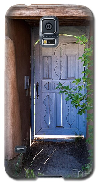 Galaxy S5 Case featuring the photograph Doors Of Santa Fe by Roselynne Broussard