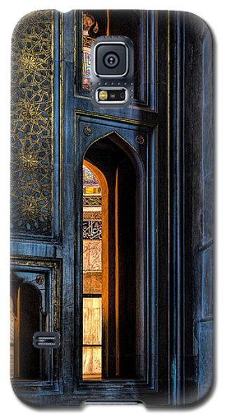 Doorway In The Blue Mosque Galaxy S5 Case by Marion McCristall