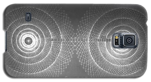 Galaxy S5 Case featuring the drawing Doppler Effect Parallel Universes by Jason Padgett