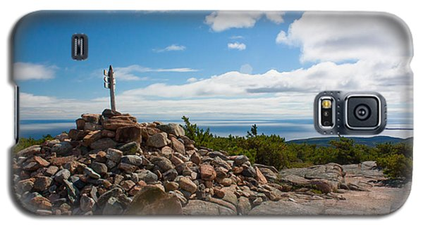 Dorr Mountain Summit - Acadia Galaxy S5 Case