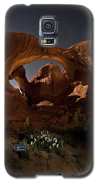 Double Arch In The Moonlight Galaxy S5 Case by Melany Sarafis