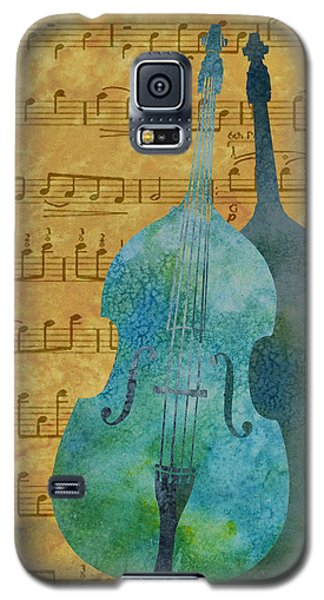 Double Bass Score Galaxy S5 Case