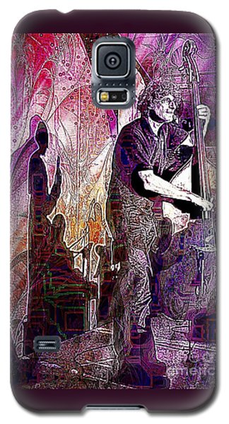 Double Bass Silhouette  Galaxy S5 Case