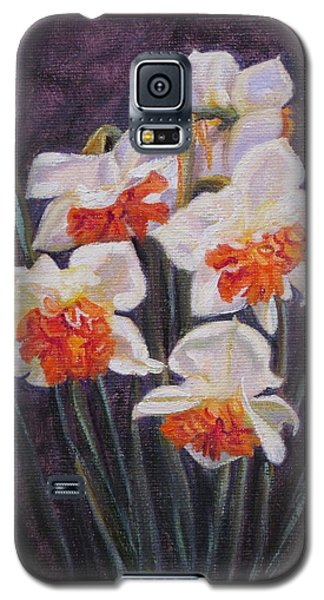 Double Daffodil Replete Galaxy S5 Case