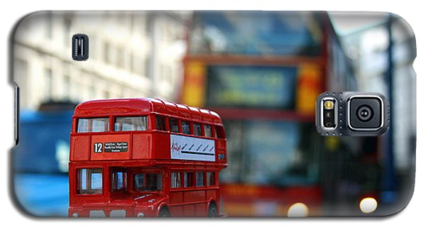 Double Deckers At Piccadilly Circus  Galaxy S5 Case