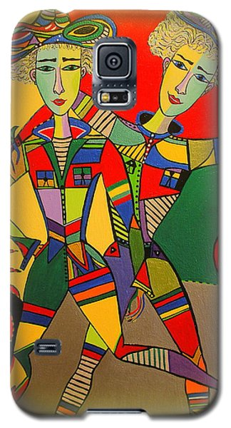 Let's Go Brother Galaxy S5 Case by Marie Schwarzer