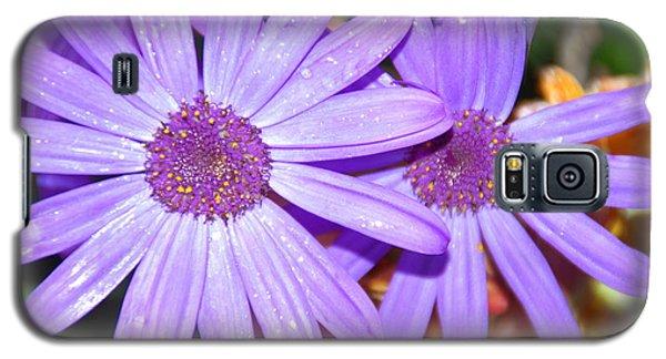 Double Purple Galaxy S5 Case