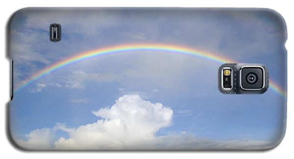 Double Rainbow At Sea Galaxy S5 Case