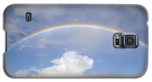 Double Rainbow At Sea Galaxy S5 Case