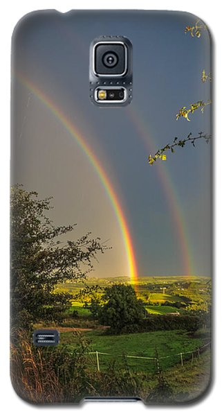 Double Rainbow Over County Clare Galaxy S5 Case