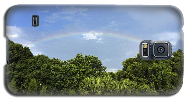 Double Rainbow St. Pete Fl Galaxy S5 Case