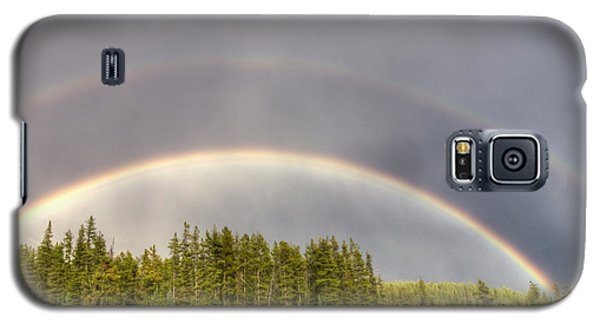 Double Rainbow Galaxy S5 Case by Wanda Krack