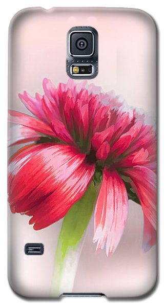 Galaxy S5 Case featuring the photograph Double Scoop Delight - Orangeberry Coneflower by Gary Smith