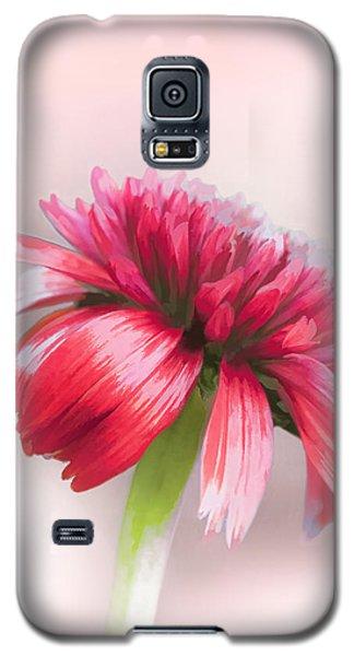 Double Scoop Delight - Orangeberry Coneflower Galaxy S5 Case by Gary Smith