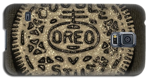 Double Stuff Oreo In Sepia Negitive Galaxy S5 Case