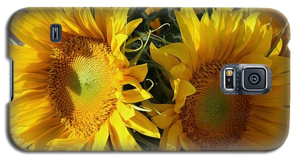 Galaxy S5 Case featuring the photograph Double Yellow  by Yumi Johnson