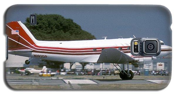 Douglas Dc-3 N193dp Van Nuys Airport June 23 2000 Galaxy S5 Case