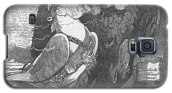 Dove Of Peace Editorial Art Galaxy S5 Case