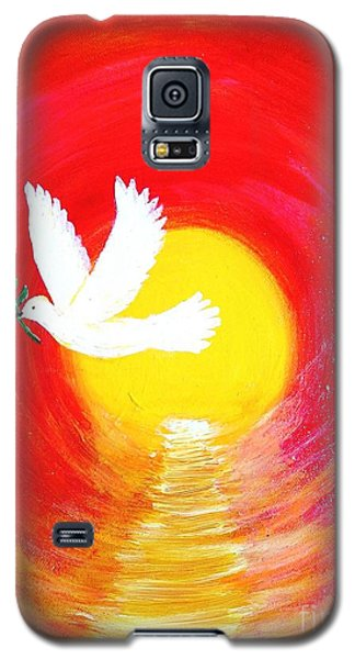 Dove Of Peace Galaxy S5 Case