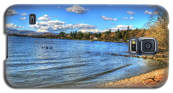 Galaxy S5 Case featuring the photograph Down By The Riverside by Doc Braham