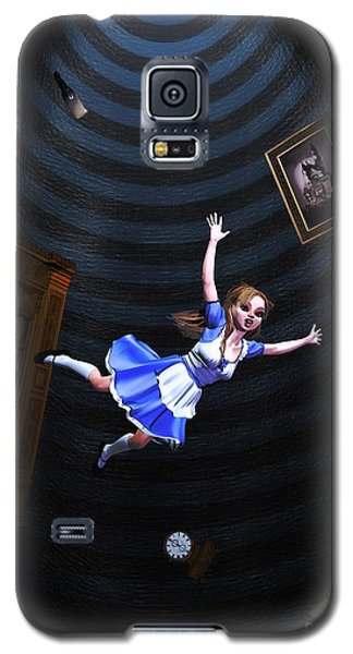 Down The Rabbit Hole Galaxy S5 Case
