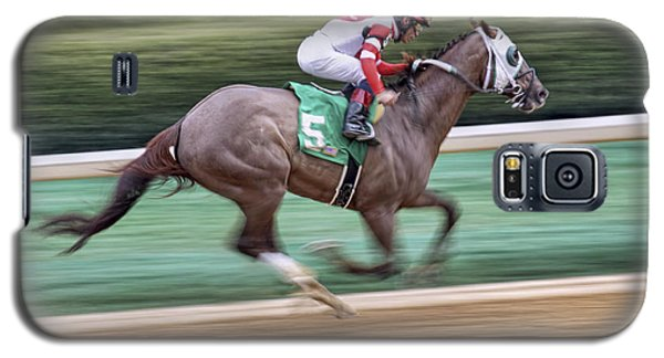 Down The Stretch - Horse Racing - Jockey Galaxy S5 Case