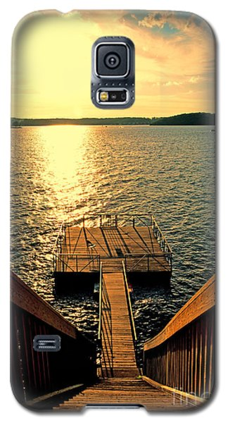 Down To The Fishing Dock - Lake Of The Ozarks Mo Galaxy S5 Case