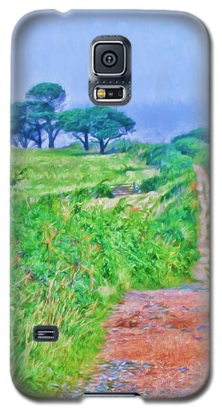 Down To The Sea Herm Island Galaxy S5 Case