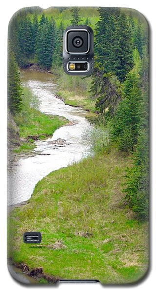 Downriver Galaxy S5 Case by Jim Sauchyn