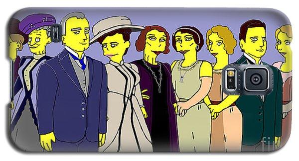 Downton Abbey - Cast Nine Galaxy S5 Case by Donna Huntriss
