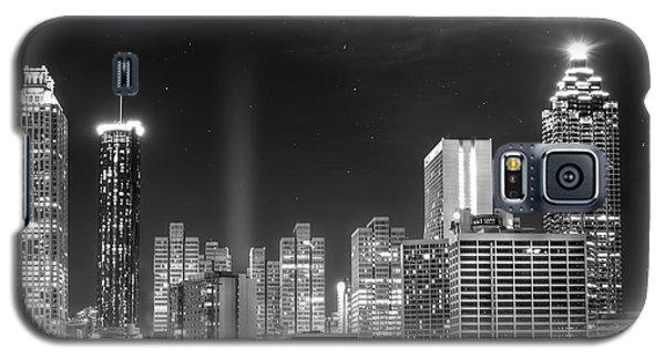 Downtown Atlanta Skyline Galaxy S5 Case by Mark Andrew Thomas