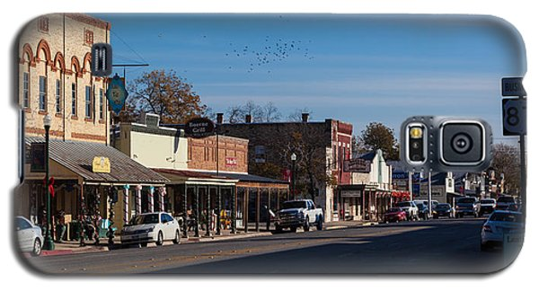Downtown Boerne Galaxy S5 Case by Ed Gleichman