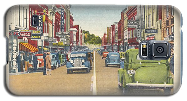Downtown Bristol Va Tn 1930 - 40 Galaxy S5 Case