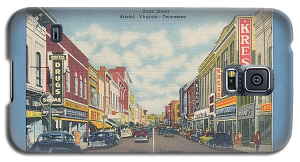 Downtown Bristol Va Tn 1940's Galaxy S5 Case