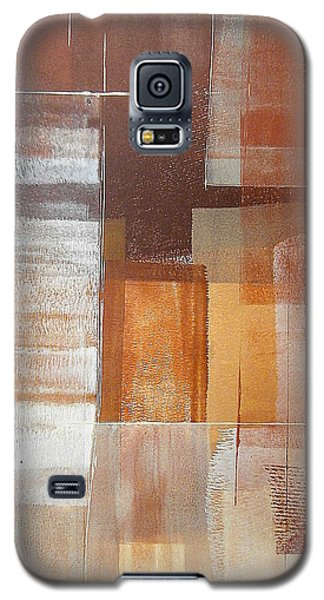 Galaxy S5 Case featuring the painting Downtown by Buck Buchheister