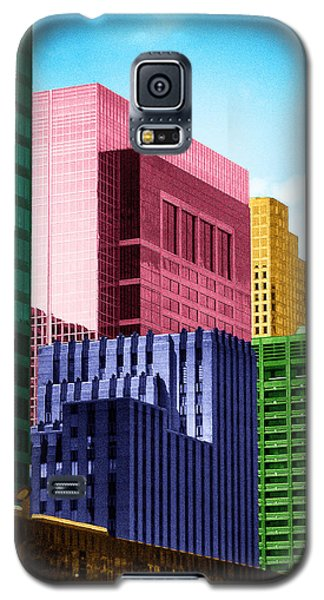 Downtown Building Blocks Galaxy S5 Case