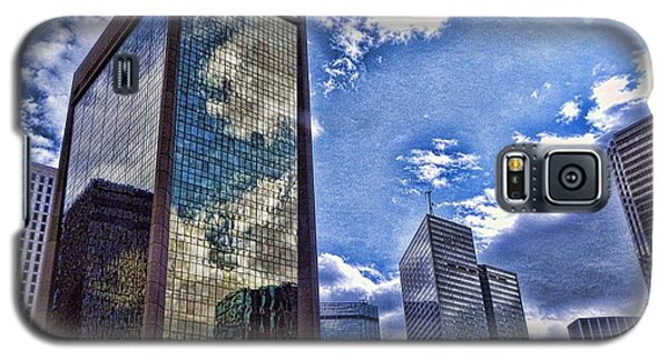 Galaxy S5 Case featuring the photograph Downtown Dallas by Kathy Churchman