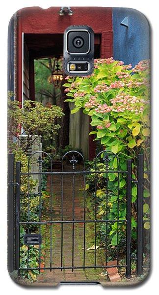 Downtown Garden Path Galaxy S5 Case