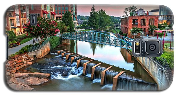 Downtown Greenville On The River Galaxy S5 Case