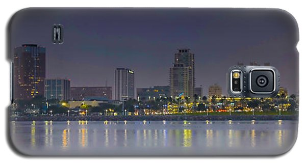 Galaxy S5 Case featuring the photograph Downtown Long Beach by Joseph Hollingsworth