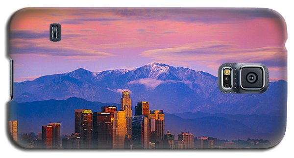 Downtown Los Angeles After Sunset Galaxy S5 Case