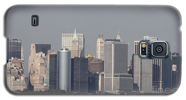 Downtown Manhattan Shot From The Staten Island Ferry Galaxy S5 Case by John Telfer