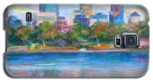 Downtown Minneapolis Skyline From Lake Calhoun Galaxy S5 Case